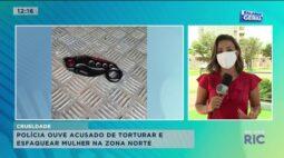 Polícia ouve acusado de torturar e esfaquear mulher na Zona Norte de Londrina