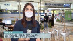 Prefeitura de Maringá terá plantão no sábado para emissão de guias do IPTU de 2021