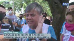 17 dias de prisão: deputado Boca Aberta se entrega no Creslon para cumprir pena no semiaberto