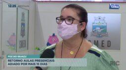 Retorno aulas presenciais adiado por mais 15 dias em Foz do Iguaçu