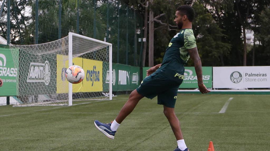 Mesmo recuperado, Wesley não será relacionado para o clássico entre Palmeiras e São Paulo