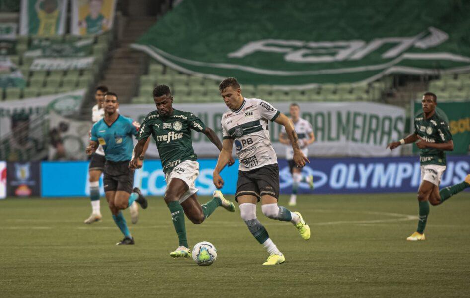 Coritiba x Palmeiras: onde assistir, desfalques, escalações e arbitragem