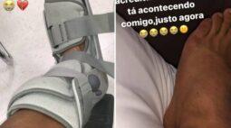 Lesão na última rodada põe em xeque futuro de atacante do Corinthians