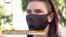 Atropelamento de criança: suspeito é agredido e tem casa destruída