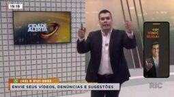 Cidade Alerta Londrina Ao Vivo | 24/02/2021