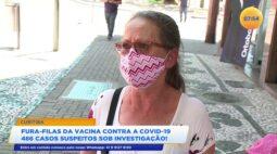 Já são 486 casos suspeitos sob investigação de fura filas da vacina contra covid-19