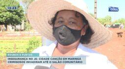 Insegurança no Jd. Cidade Canção em Maringá: criminosos invadiram até o salão comunitário