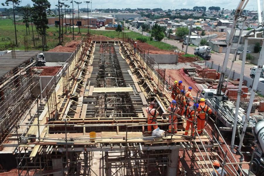 Novos reservatórios vão reforçar abastecimento de água na Grande Curitiba