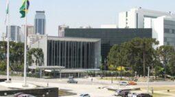 Assembleia Legislativa do Paraná fecha a partir da próxima segunda-feira (1º)