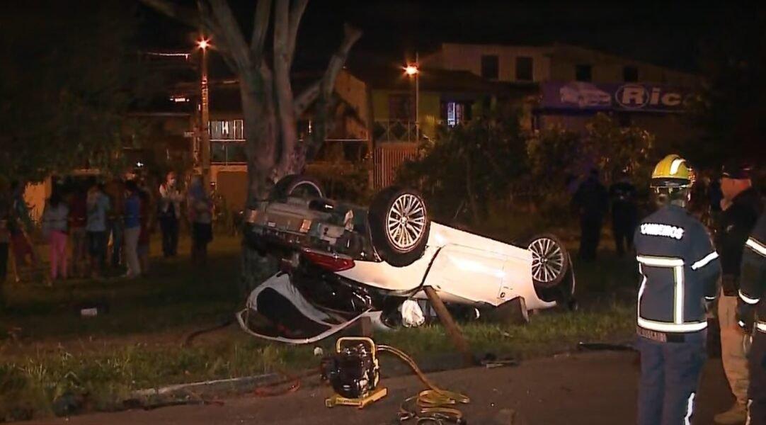 Namorado assume que dirigia a BMW no acidente que matou bancária