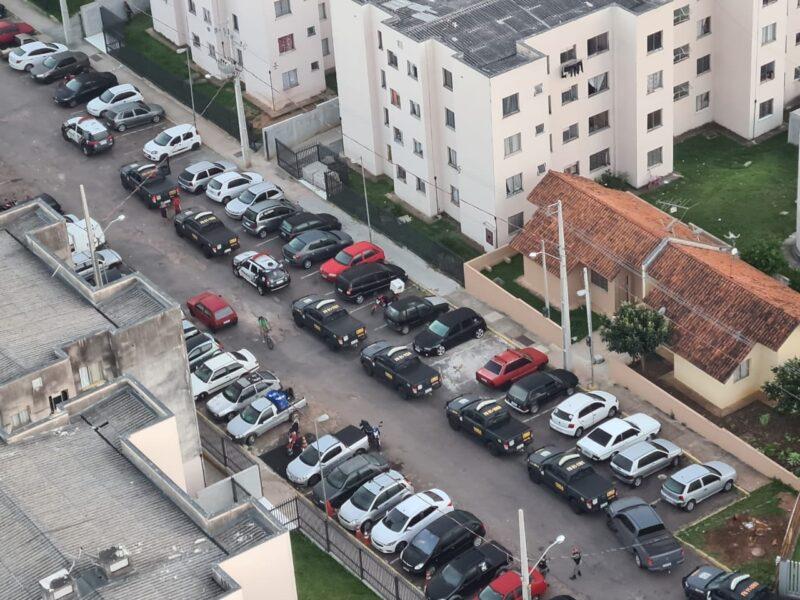 Polícia prende seis pessoas no condomínio Serra do Mar, em São José dos Pinhais