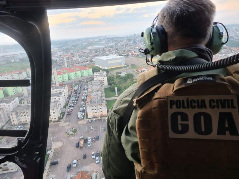 Polícia prende criminoso que escapou de operação no Condomínio Serra do Mar, na manhã de ontem