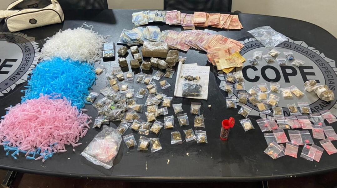 Polícia prende homem 'recheado' de drogas no Boqueirão, em Curitiba