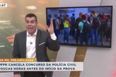UFPR cancela concurso da Polícia Civil poucas horas antes do início da prova