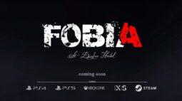 Fobia – St. Dinfna Hotel chegará aos consoles da Playstation