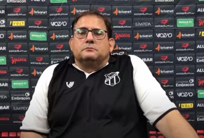 Guto Ferreira faz história e será o primeiro técnico a iniciar e terminar um Brasileirão pelo Ceará