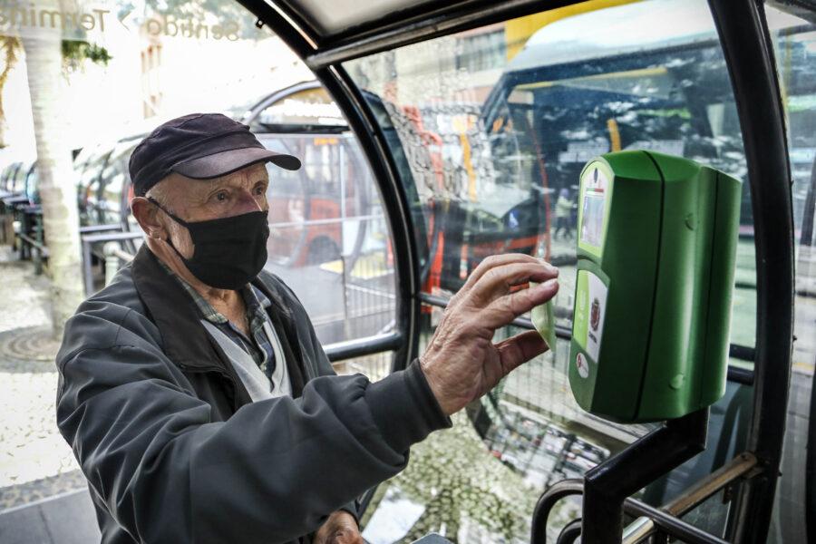 Prova de vida para cartão transporte em Curitiba é prorrogada até fim de março