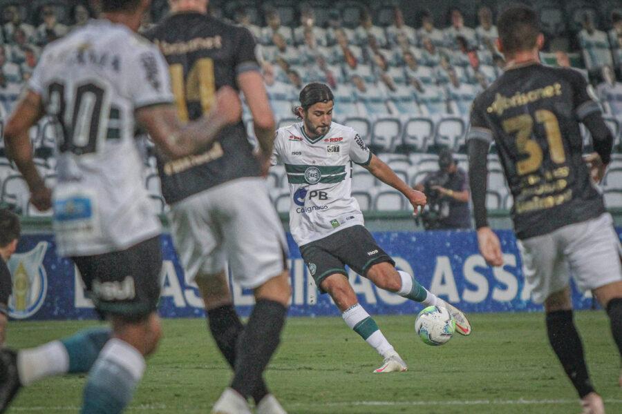 Coritiba perde a última partida da Série A no Couto Pereira