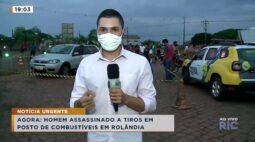 Empresário é assassinado em posto de combustível na região de Rolândia