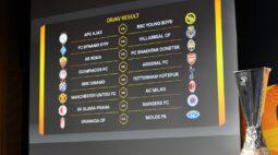 Com Manchester United x Milan, confrontos das oitavas de final da Liga Europa são definidos