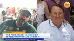 Pai e filho morrem no mesmo dia vítimas da covid-19