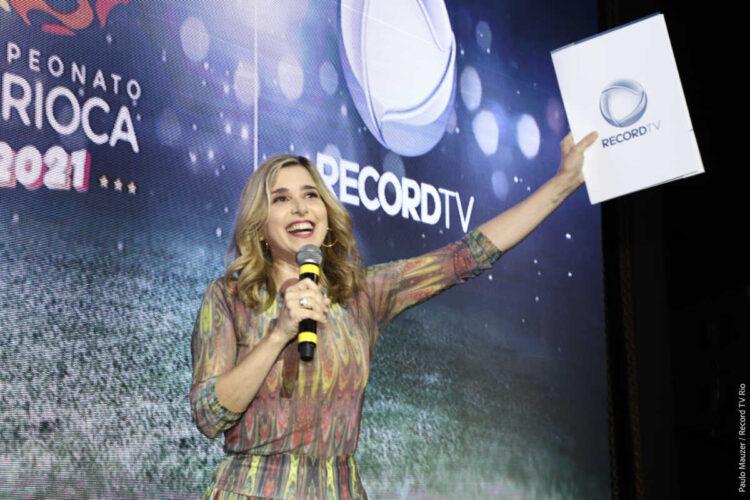 RIC Record TV vai transmitir campeonato carioca para os paranaenses