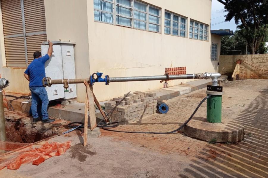 Com novo poço, Sanepar suspende definitivamente rodízio de água em cidade do Paraná