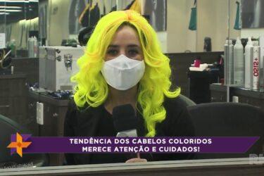 Moda dos cabelos coloridos merece atenção e cuidados