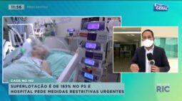 Superlotação é de 183% no PS e hospitais pedem medidas restritivas urgentes
