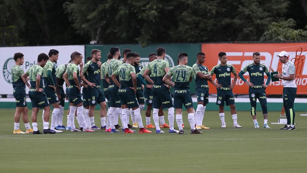Palmeiras terá dia de folga para o elenco e celebração pelo título da Copa Libertadores