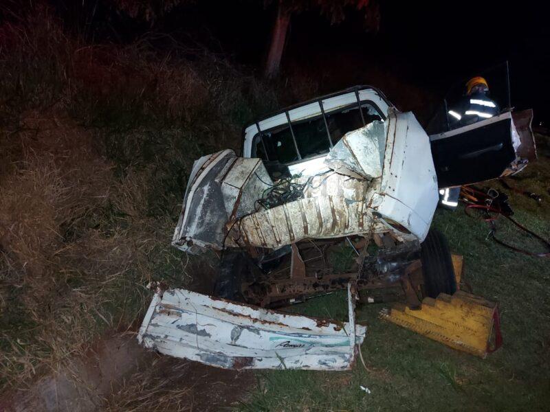 acidente em CAmbira