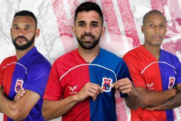Mais três: Paraná Clube oficializa Mazinho, Lucas Abreu e Gustavinho