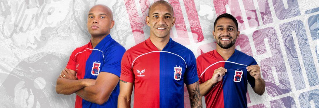 Paraná Clube apresenta mais três reforços para a sequência da temporada