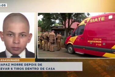Rapaz é brutalmente assassinado com seis tiros dentro de casa