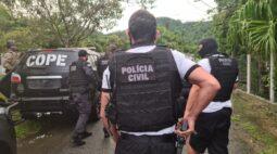 Operação prende suspeitos de homicídio e tráfico de drogas