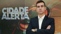 Vinícius Buganza estreia à frente do Cidade Alerta Londrina e fala sobre nova fase do programa