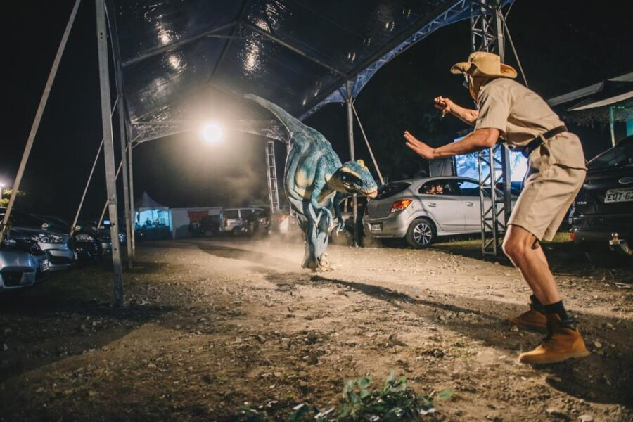 Jurassic safari experience chega em Curitiba