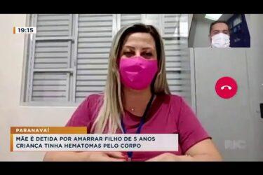 Mãe é detida por deixar criança de 5 anos amarrada em Paranavaí