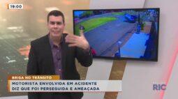 Briga no Trânsito | Motorista envolvida em acidente na Av. das Torres fala com exclusividade.