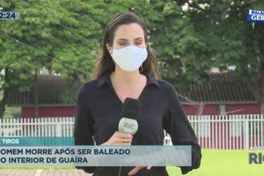 Homem morre após ser baleado no interior de Guaíra