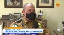 Após brigar com vizinho homem é agredido por Policial Militar