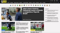 """Título do Palmeiras repercute em Portugal: """"Volta a brilhar a estrela de Abel Ferreira"""""""
