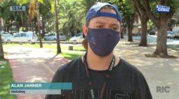 Família premiada: depois de ter acontecido com a mãe, motoboy sofre queda ao desviar de drone