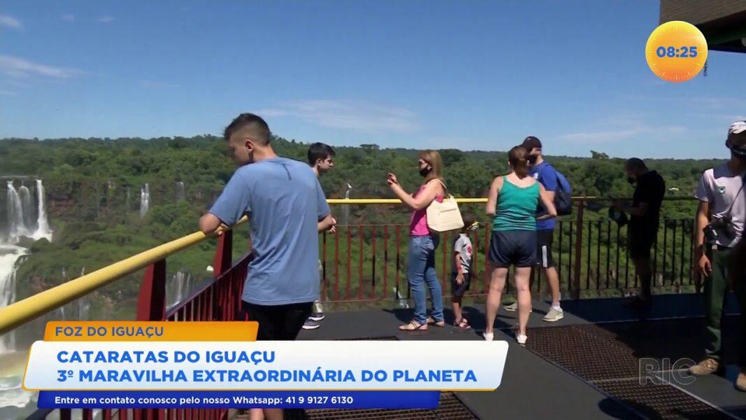 Cataratas do Iguaçu: terceira maravilha extraordinária do planeta