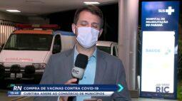 Curitiba adere ao consórcio de municípios na compra de vacinas contra COVID-19