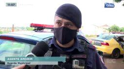 Bandidos armados fazem família refém em assalto no Cafezal