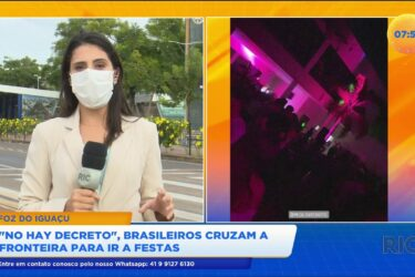 """""""No hay decreto"""": brasileiros cruzam a fronteira para ir a festas"""