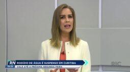 Rodízio de água é suspenso em Curitiba até a próxima segunda-feira(9)