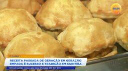 É daqui: receita de empada que foi passada de geração em geração é sucesso e tradição em Curitiba