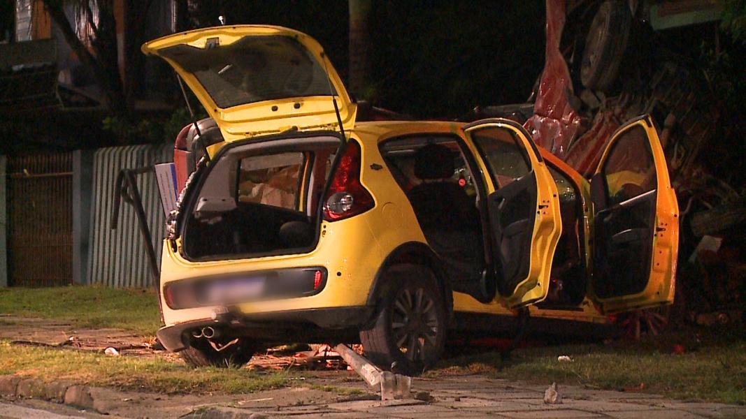 Acidente em Araucária: passageiros afirmam que motorista bebeu e estava em alta velocidade